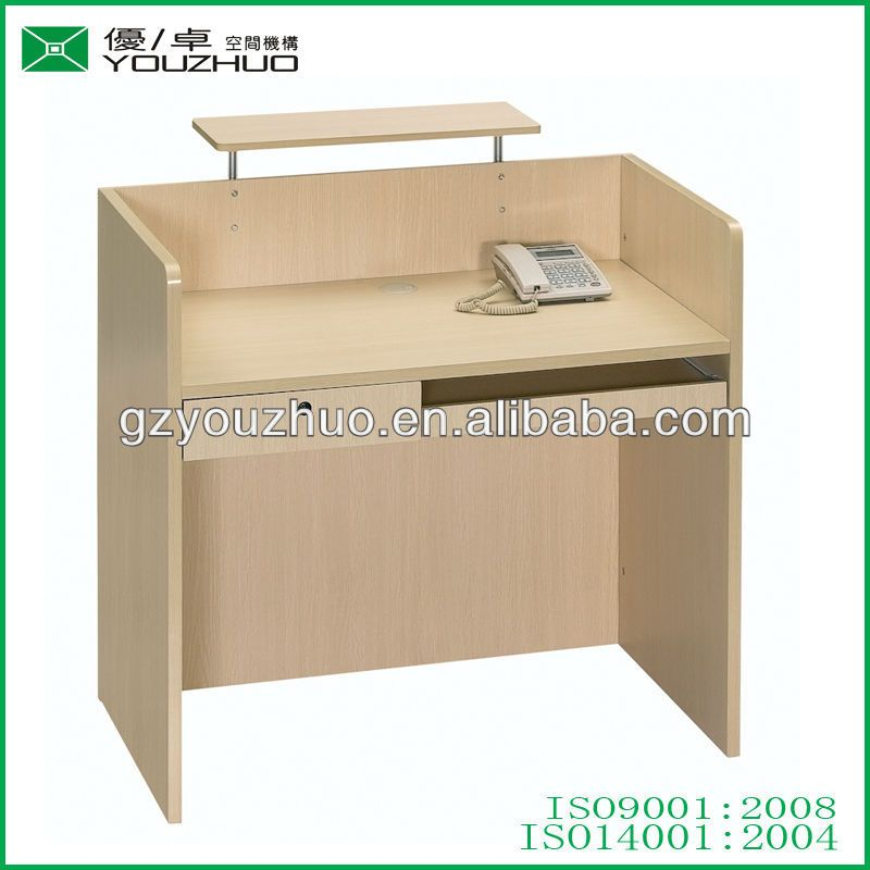 R040 Simple Design Mfc Office Small Reception Desks