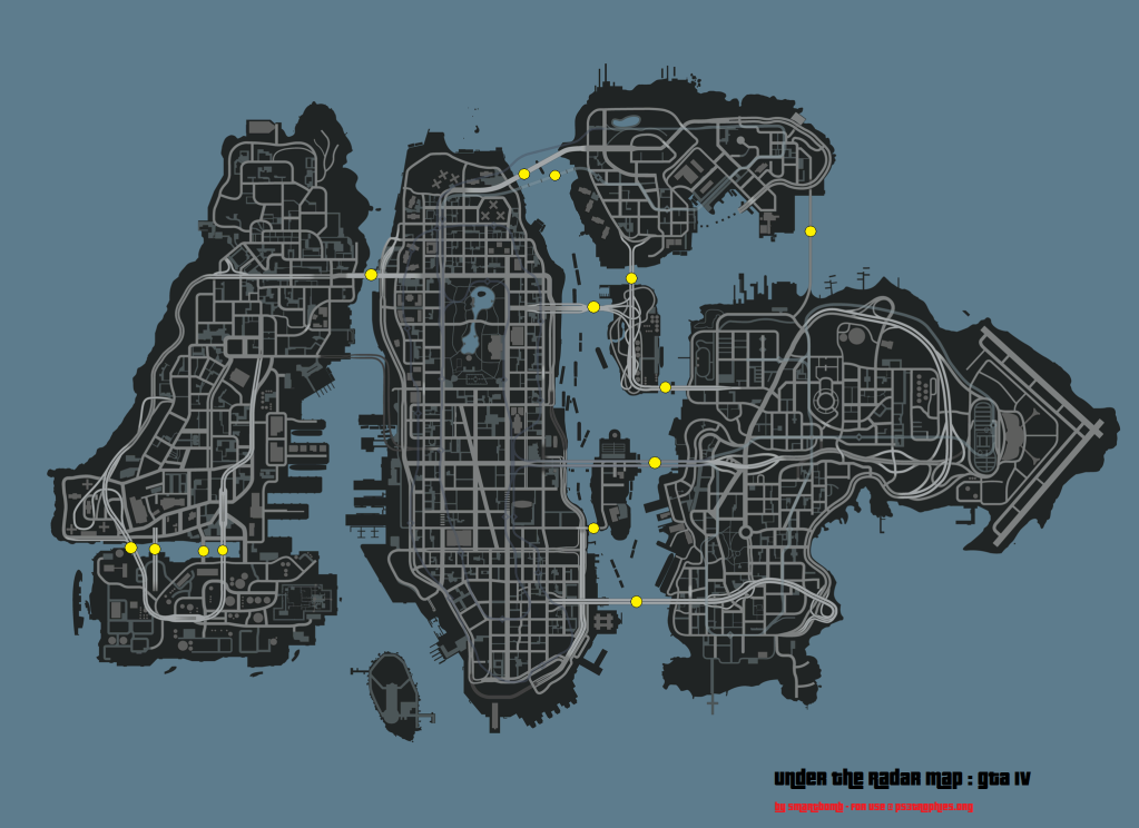 Grand Theft Auto IV Trophy Guide & Road Map
