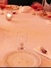 Ivory Round 120 Inch Table Cloth.