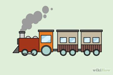 How To Draw A Train Train Drawing Train Cartoon Train Coloring Pages