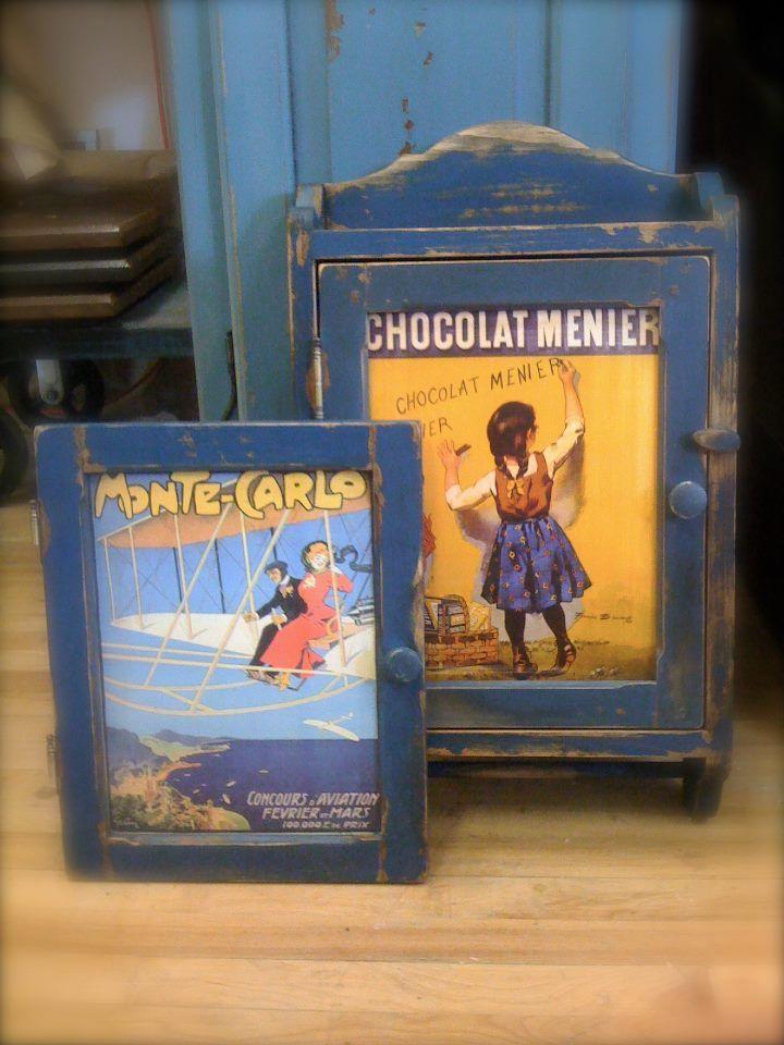 reproduction pharmacie ancienne en pin, assemblage mi-bois, panneau