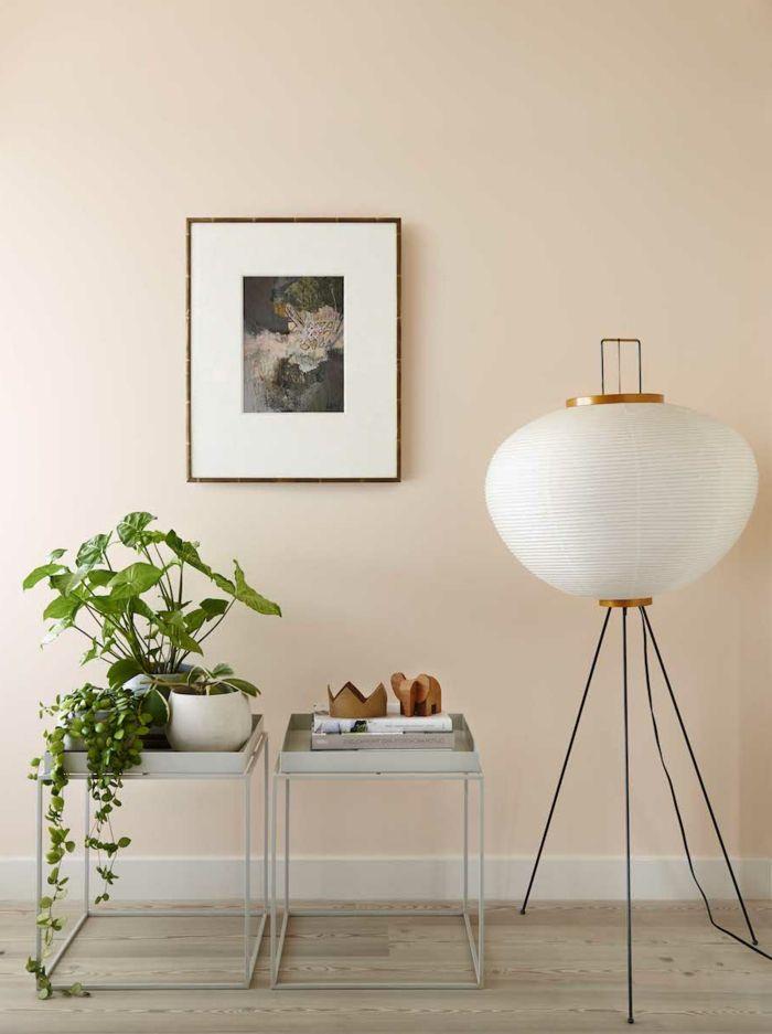 1001 Einrichtungs Und Modeideen In Apricot Farbe Beige Wande Schlafzimmerfarbe Wandfarbe Wohnzimmer