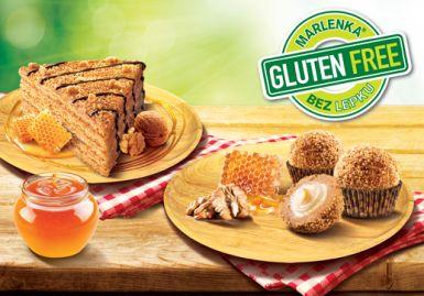 Pokiaľ nemôžete jesť klasickú Marlenku,<br>ponúkame Vám zdravú variantu - bezlepkovú, 800g za 9,00 €, bliss