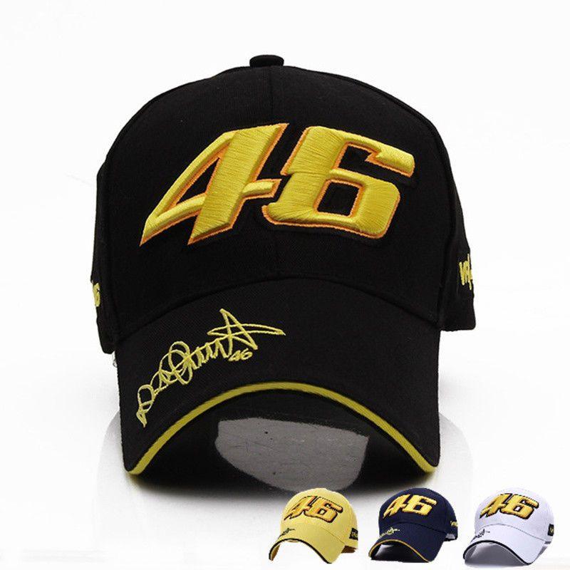 56587d102 Baseball Cap Valentino Rossi VR 46 Yamaha Moto GP Racing Embroidered ...