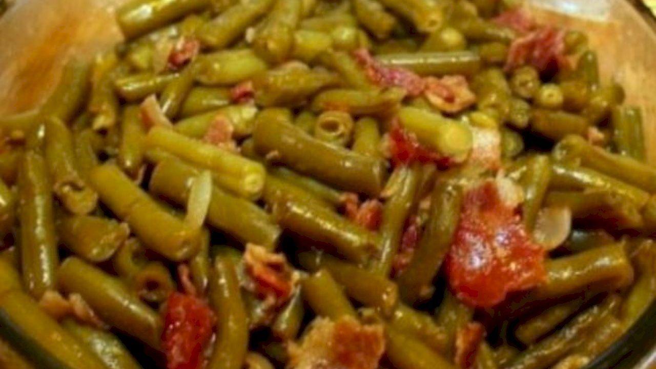 كيفية طبخ لوبيا خضراء Cooking Green Beans How To Cook Greens Green Beans