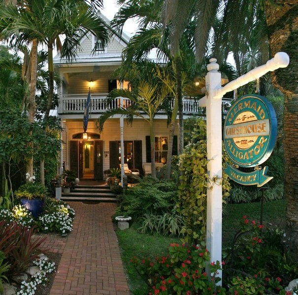 The Mermaid and the Alligator a classic Key West bed and