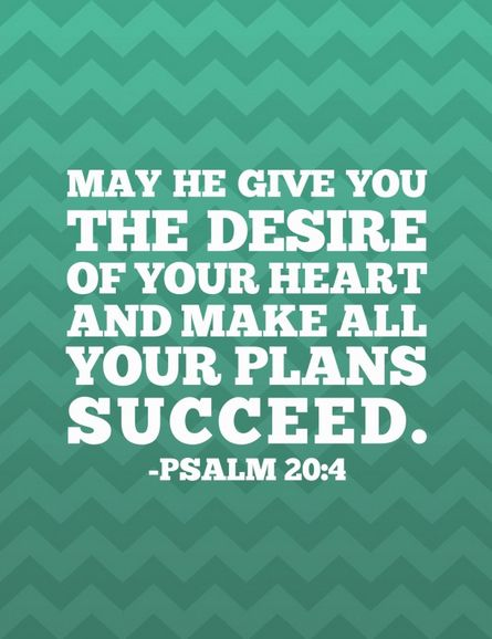 May He Give You The Desire Of Your Heart And Make All Your Plans