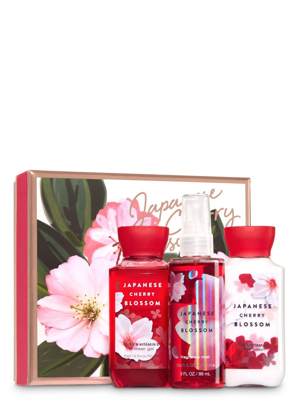 Japanese Cherry Blossom Blooming Box Gift Set Cherry Blossom