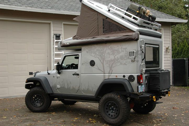 Adventure Mobile Jeep Xv Jp Northwest Edition Truck Campers For Sale Jeep Camping Overland Vehicles