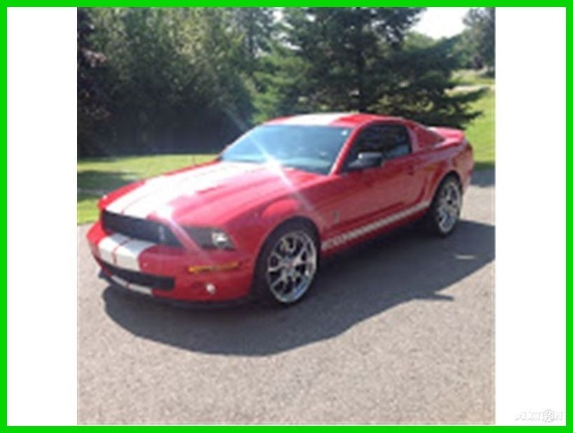 car brand auctioned ford mustang shelby gt500 coupe 2 door 2007 car rh pinterest com 1964 Ford Mustang Ford Mustang Convertible