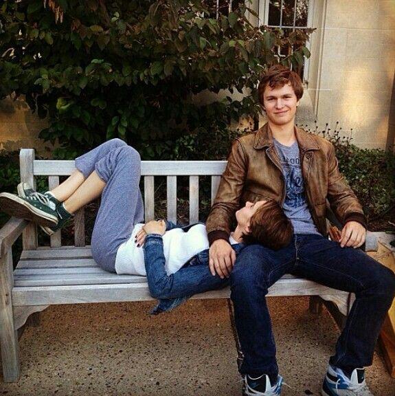 Love this pict^^ Ansel Elgort & Shailene Woodley