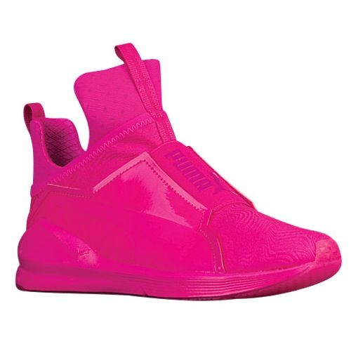 Pink puma sneakers, Puma fierce shoes