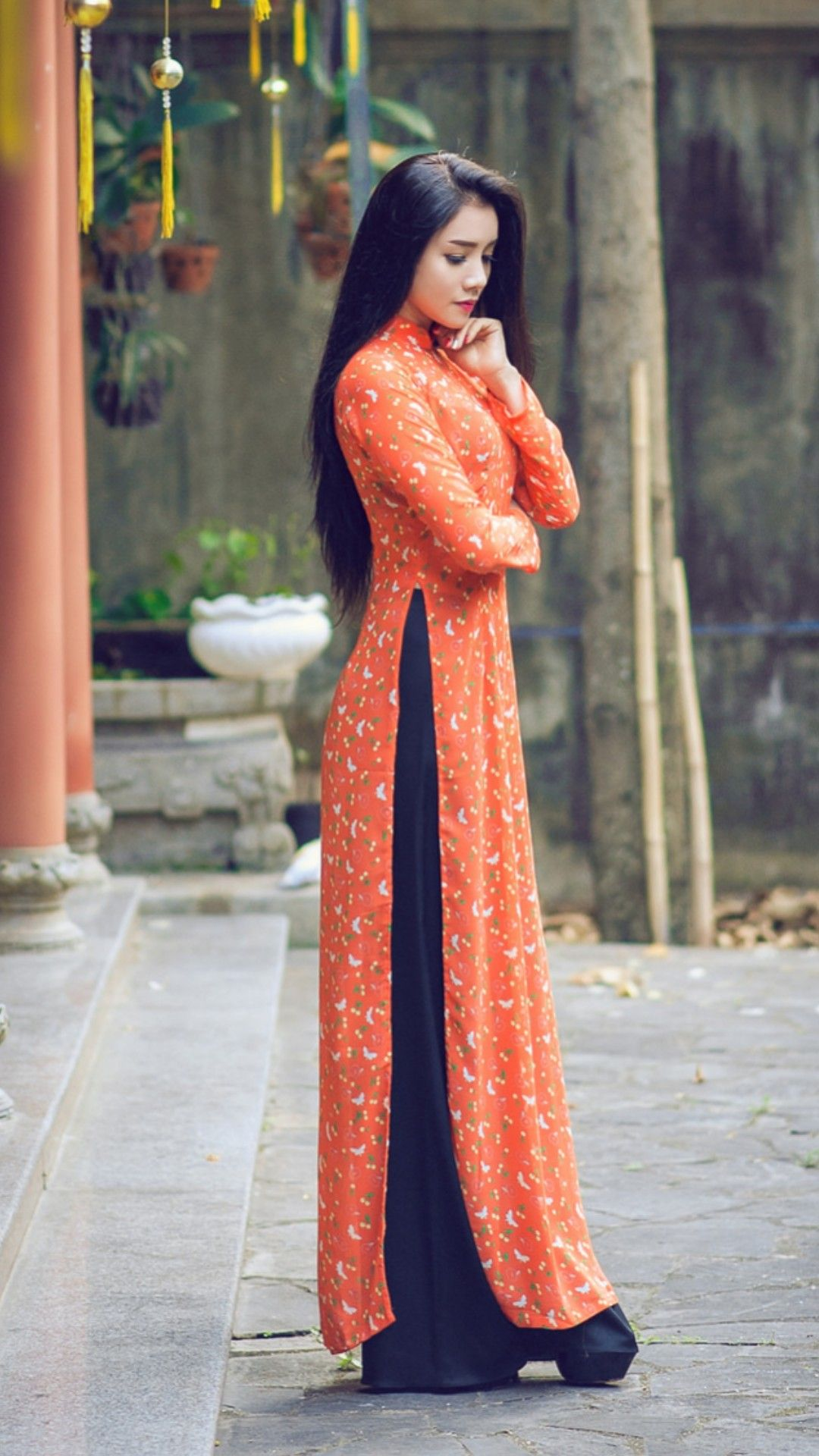 Vietnamese long dress ao dai pinterest ao dai vietnamese