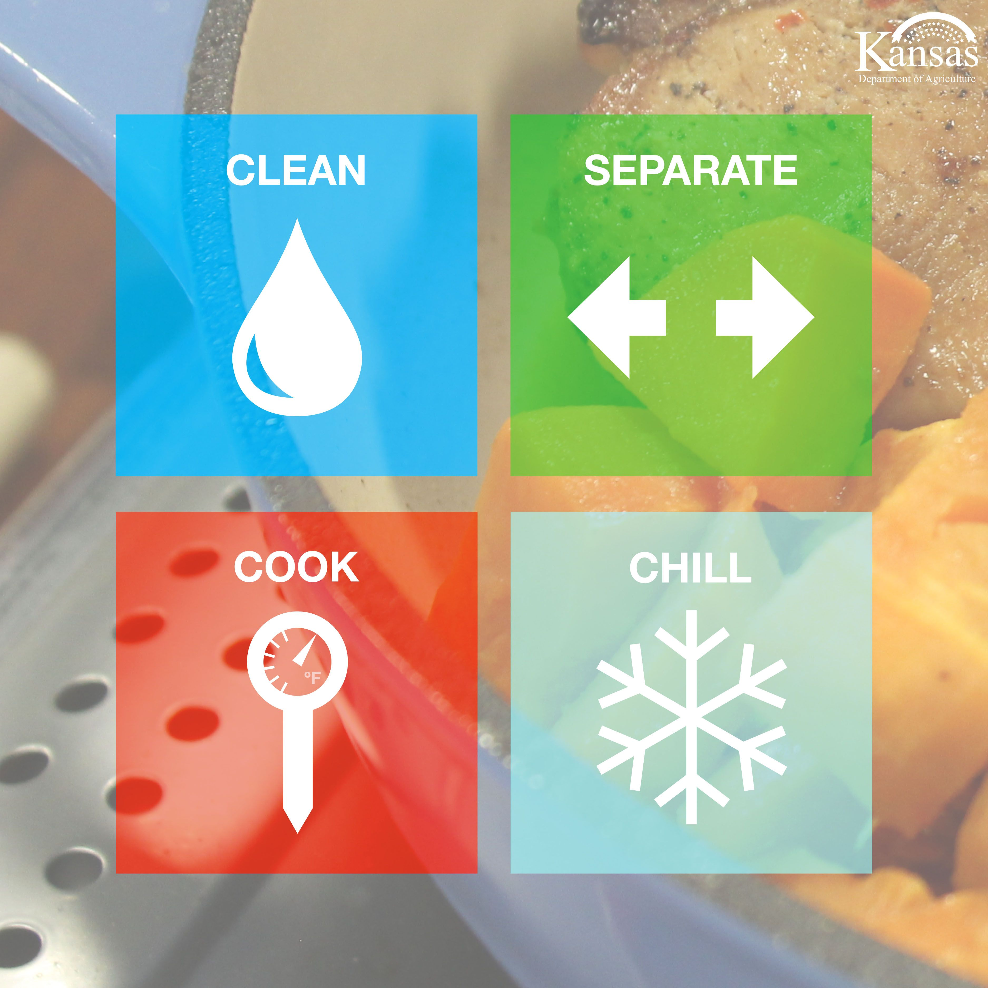 Food safety is a shared responsibility. It's important to