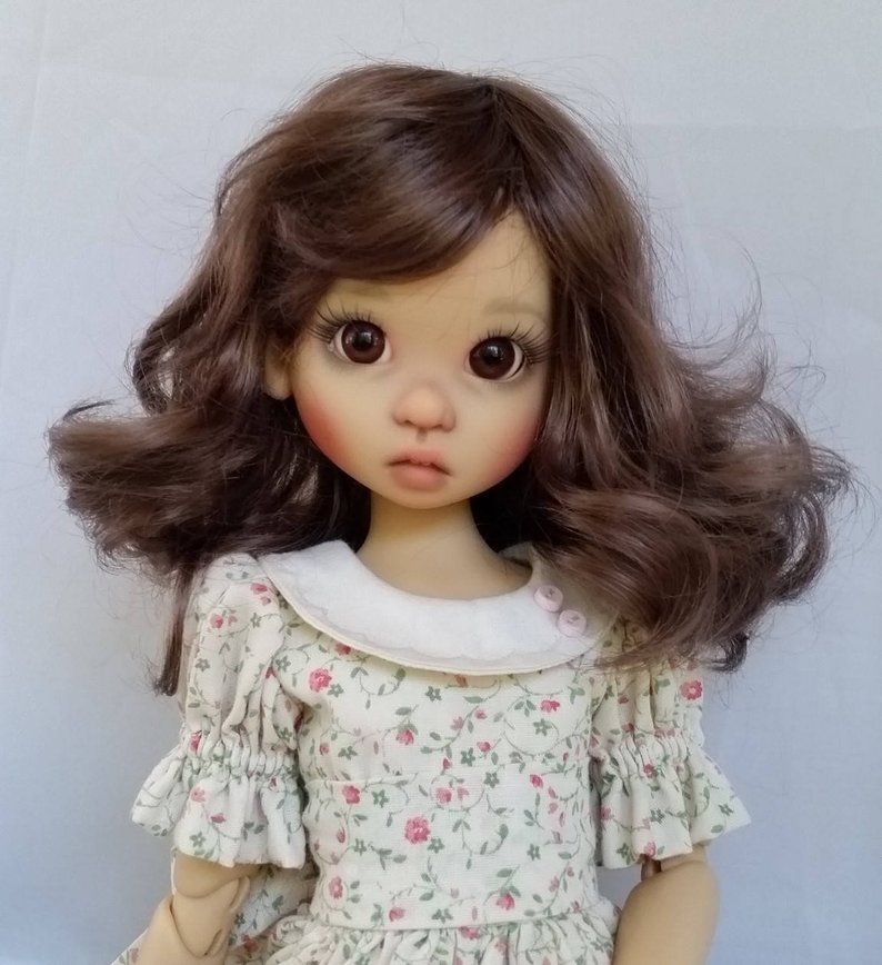 Monique doll wig size 89 rose in 3 colors etsy doll
