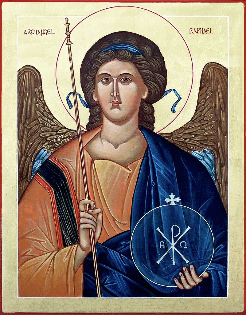 archangel raphael images google search icons pinterest angel and russian icons. Black Bedroom Furniture Sets. Home Design Ideas