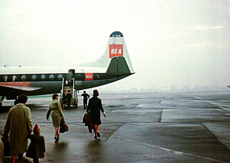 April 1963 Bea Viscount At Birmingham Vintage Airlines