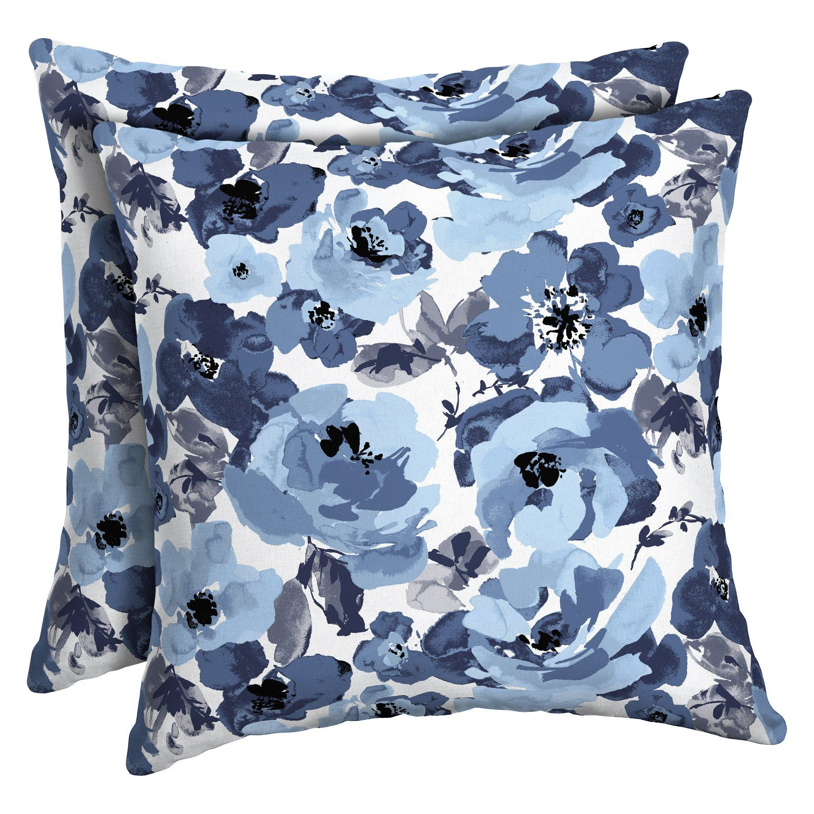 Arden Selections Leala Garden Delight Outdoor Toss Pillow Set Of 2