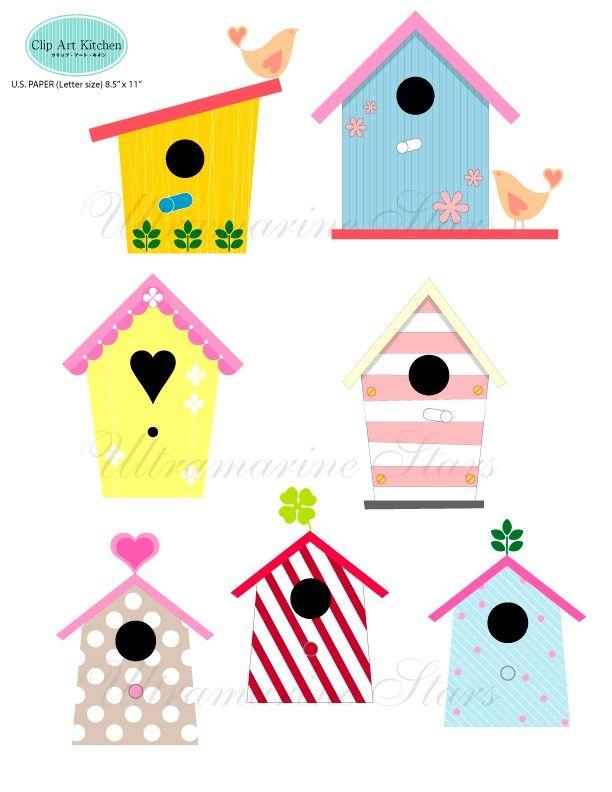 printable digital clip art love bird house printables rh pinterest com love birds clipart wedding love bird clip art free