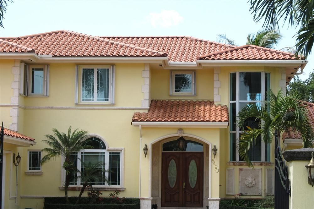 Best Cashel Clay Roofing Spanish Tiles Yellow House 400 x 300