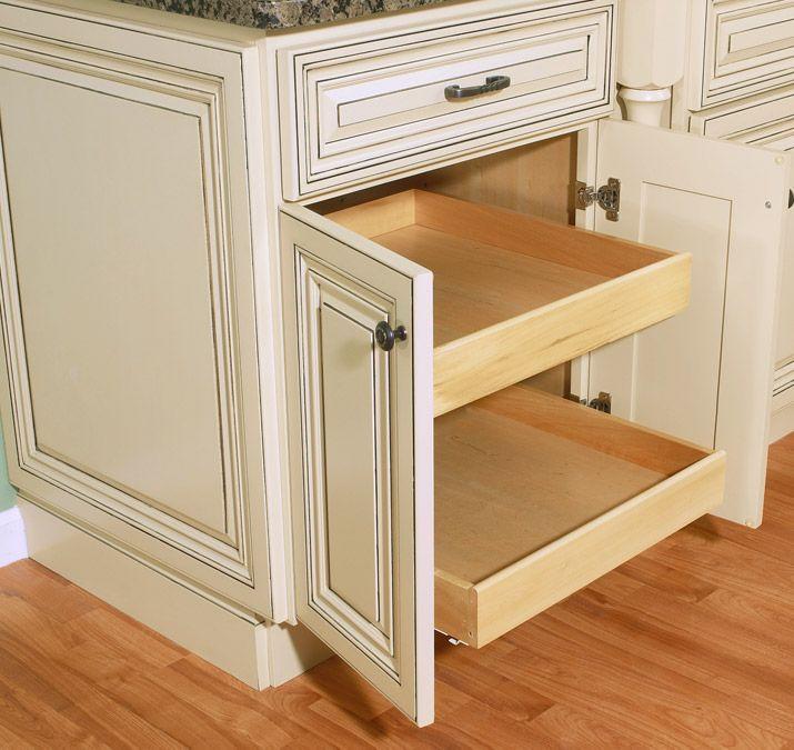 Cream Glazed Kitchen Cabinets: Beautiful Wholesale Rta Kitchen Cabinets With Arlington