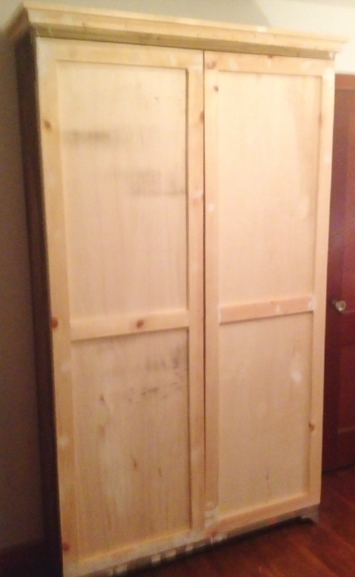 Beau How To Build An Armoire From Salvaged Wood. It Is Amazing How Just When You