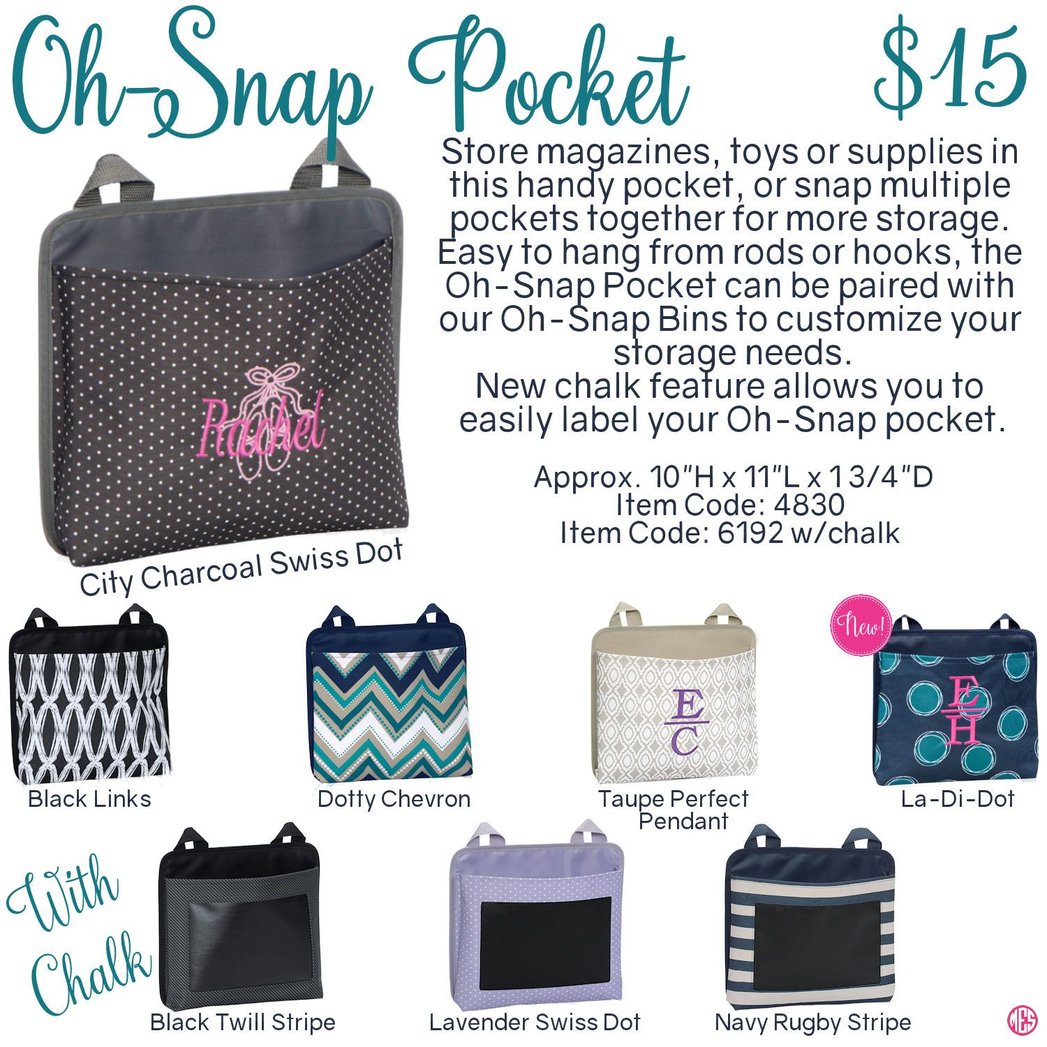 Oh snap bin ideas - Oh Snap Pocket By Thirty One Fall Winter 2016 Click To