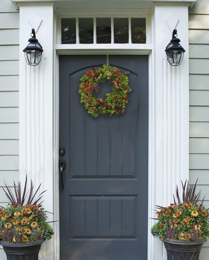 Etera Sedum Tile A Living Wreath Of Sedums Living Wreath Succulents Love Garden