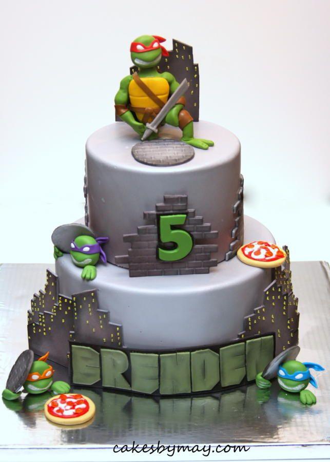 Teenage Mutant Ninja Turtles Sweet Cake Creations Pinterest
