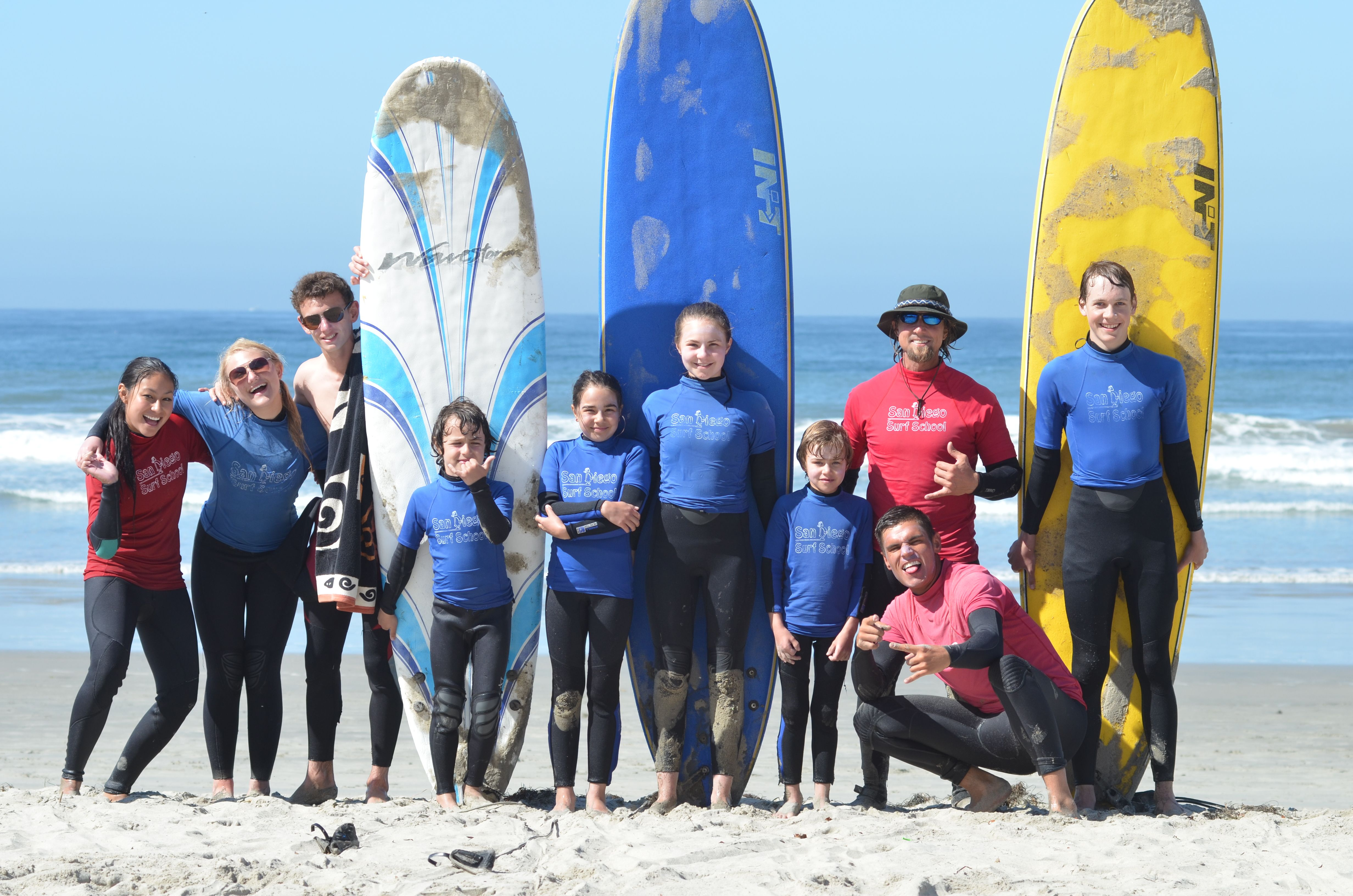 #SanDiego #SurfReport Sunday, June 7  2-3 ft- Knee to Waist High  FAIR CONDITIONS  Another beautiful day for surfing!! Kid's Summer Camps available at www.sandiegosurfschool.com for more details and prices or come on down to the shop at 4850 Cass St. or call at (858) 205-7683. #privatesurflessons #SummerCamps #Surfing #SanDiegoSurfSchool
