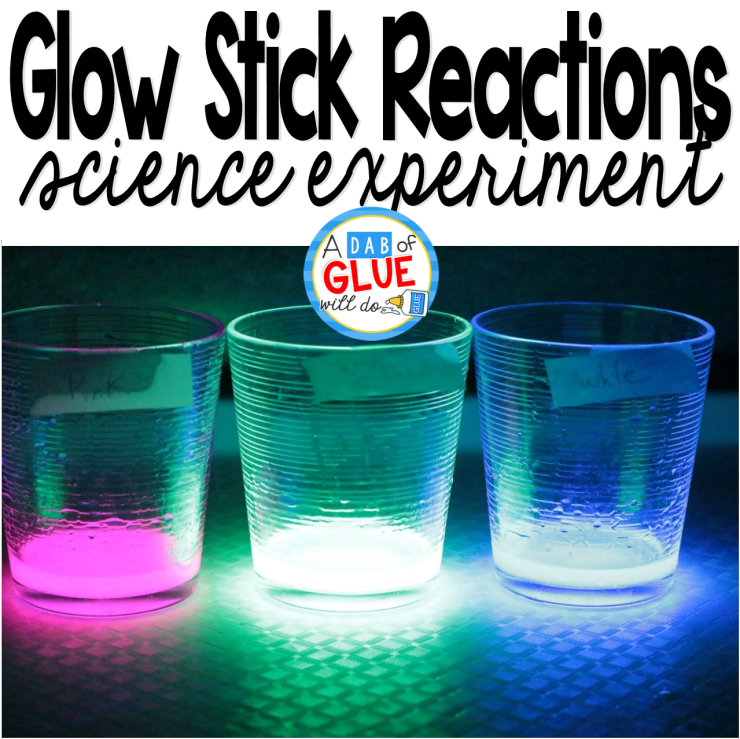 Glow Stick Reactions Science Experiment Chemistry