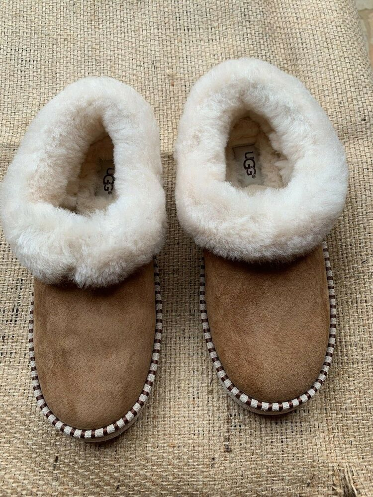 340d2a3d8658 UGG Australia Women s Wrin SLIPPERS 1007727 Chestnut Size 7M  fashion   clothing  shoes  accessories  womensshoes  slippers (ebay link)