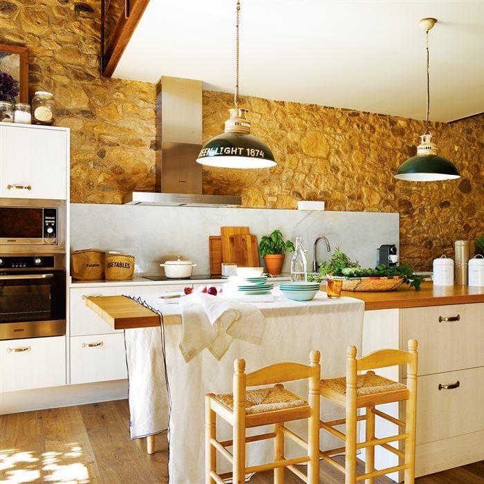 Tu isla bonita en la cocina bonitas cocinas y islas for Cocinas bonitas