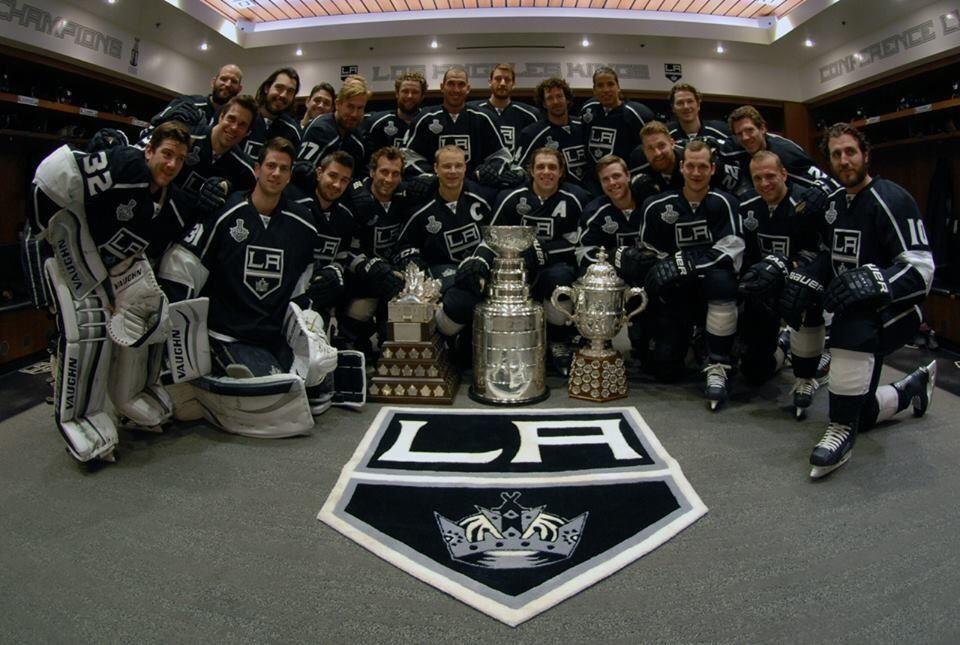 2014 Stanley Cup Champions La kings hockey, Los angeles