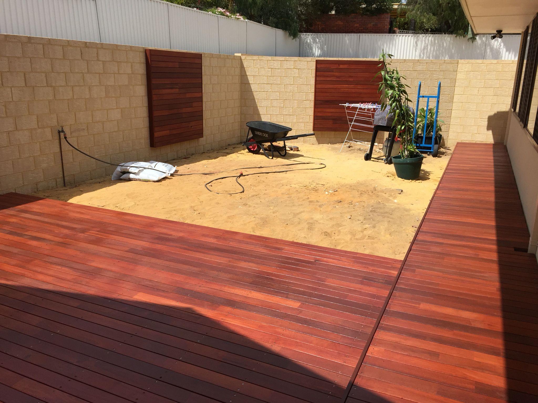 Jarrah Decking and Wall Panels | Home Carpentry | Pinterest ...