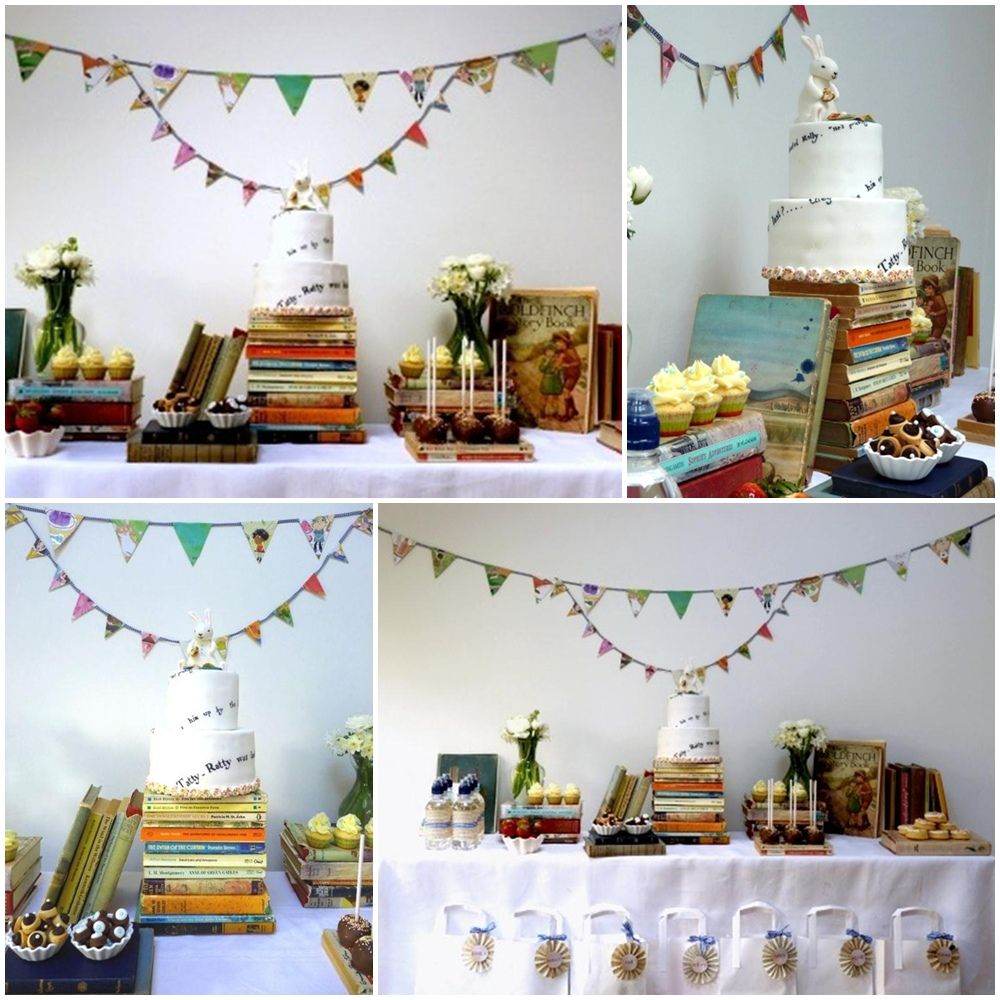 Marvelous Book Club Christmas Party Ideas Part - 2: Book Themed Party Ideas