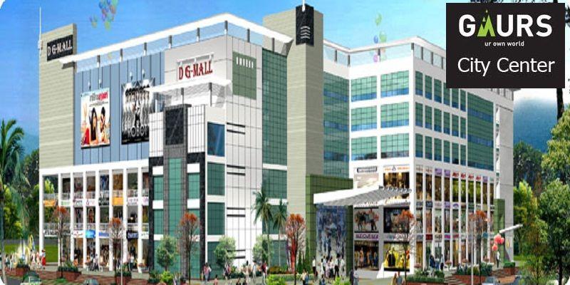 Book A Commercial Shop In Gaur City Center 21 68 Lacs It Is A