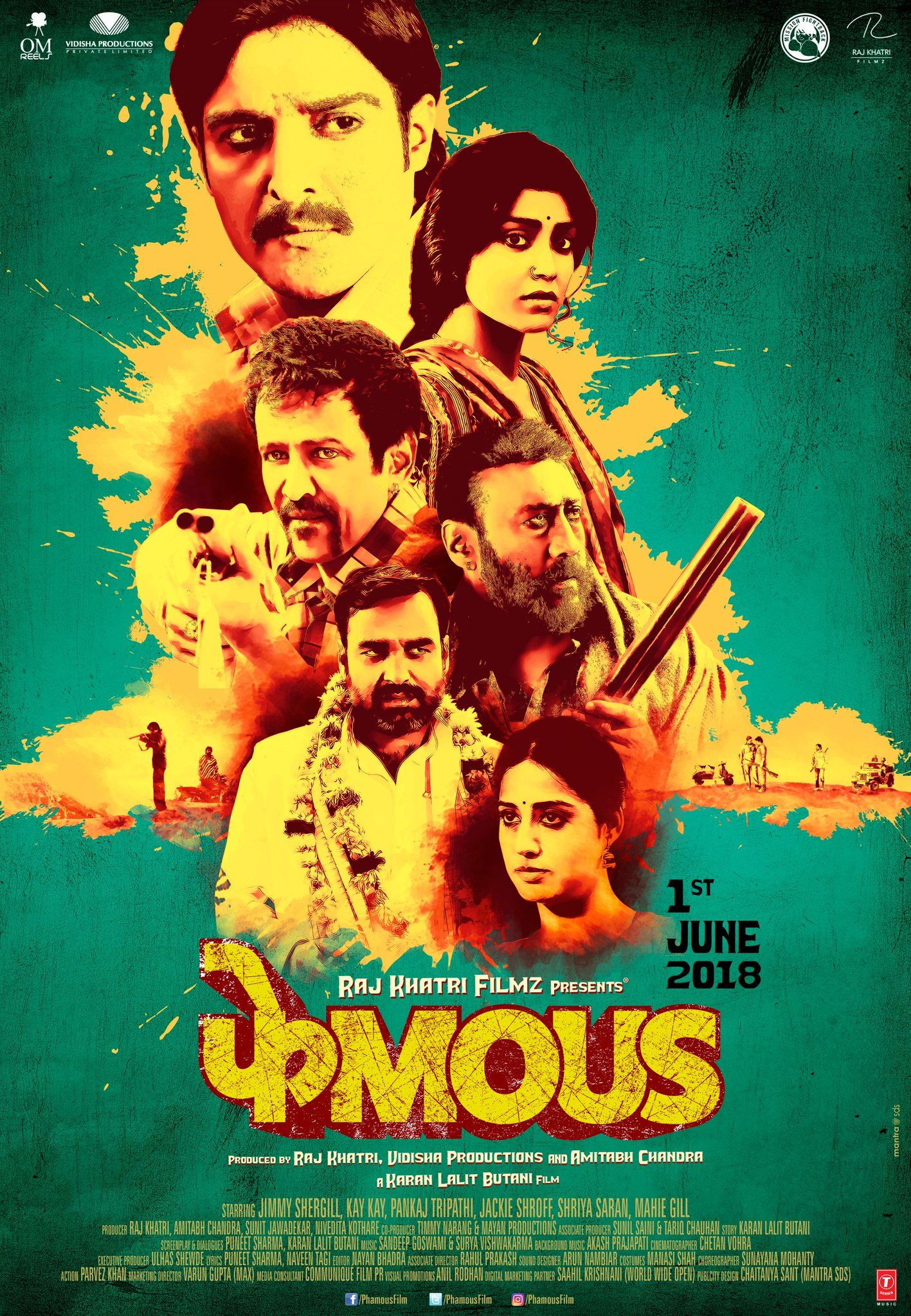 Phamous (2018) Hindi HDTVRip 700MB MKV