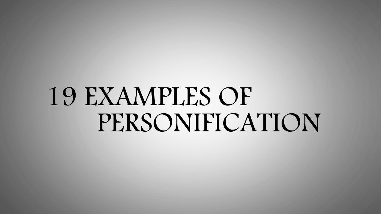 19 Examples Of Personification For Kids Personification Examples