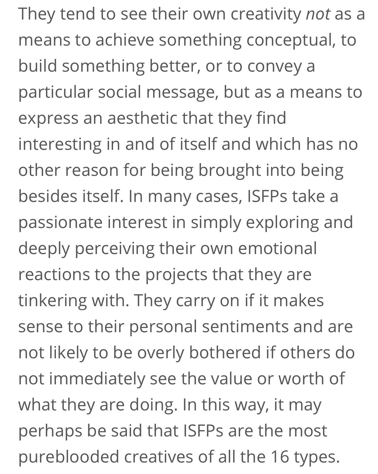 Pin By Kate Childers On Isfp Isfp Mbti Personality Infp