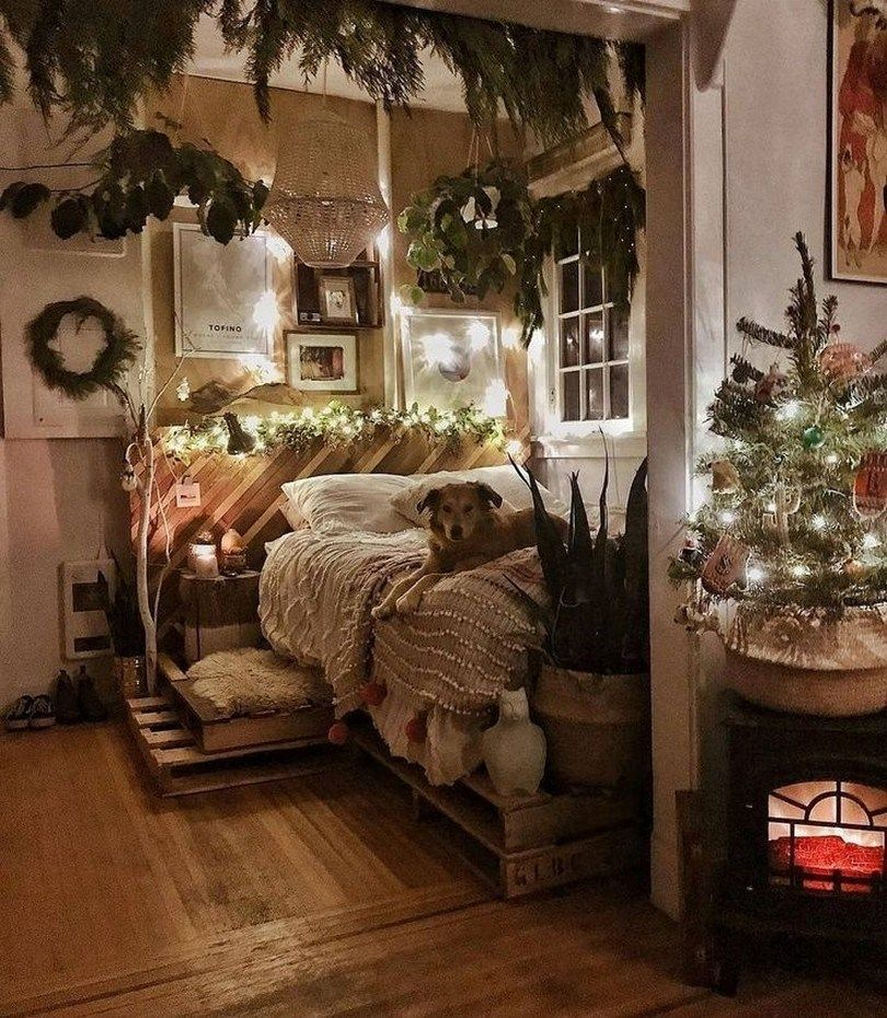 ✔ 41 cozy apartment bedroom ideas for your home 12 #cozyapartmentdecor