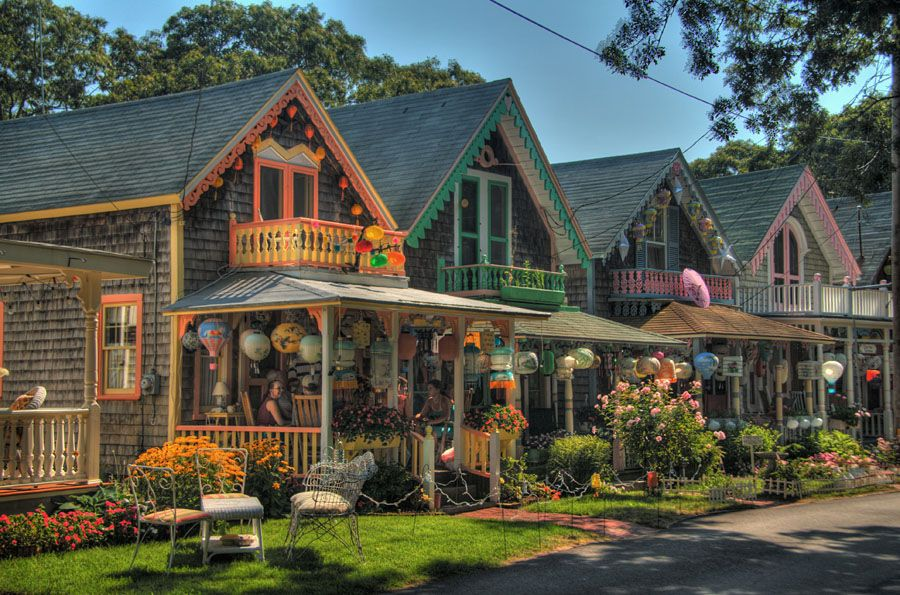 oak bluffs gingerbread houses martha 39 s vineyard ma