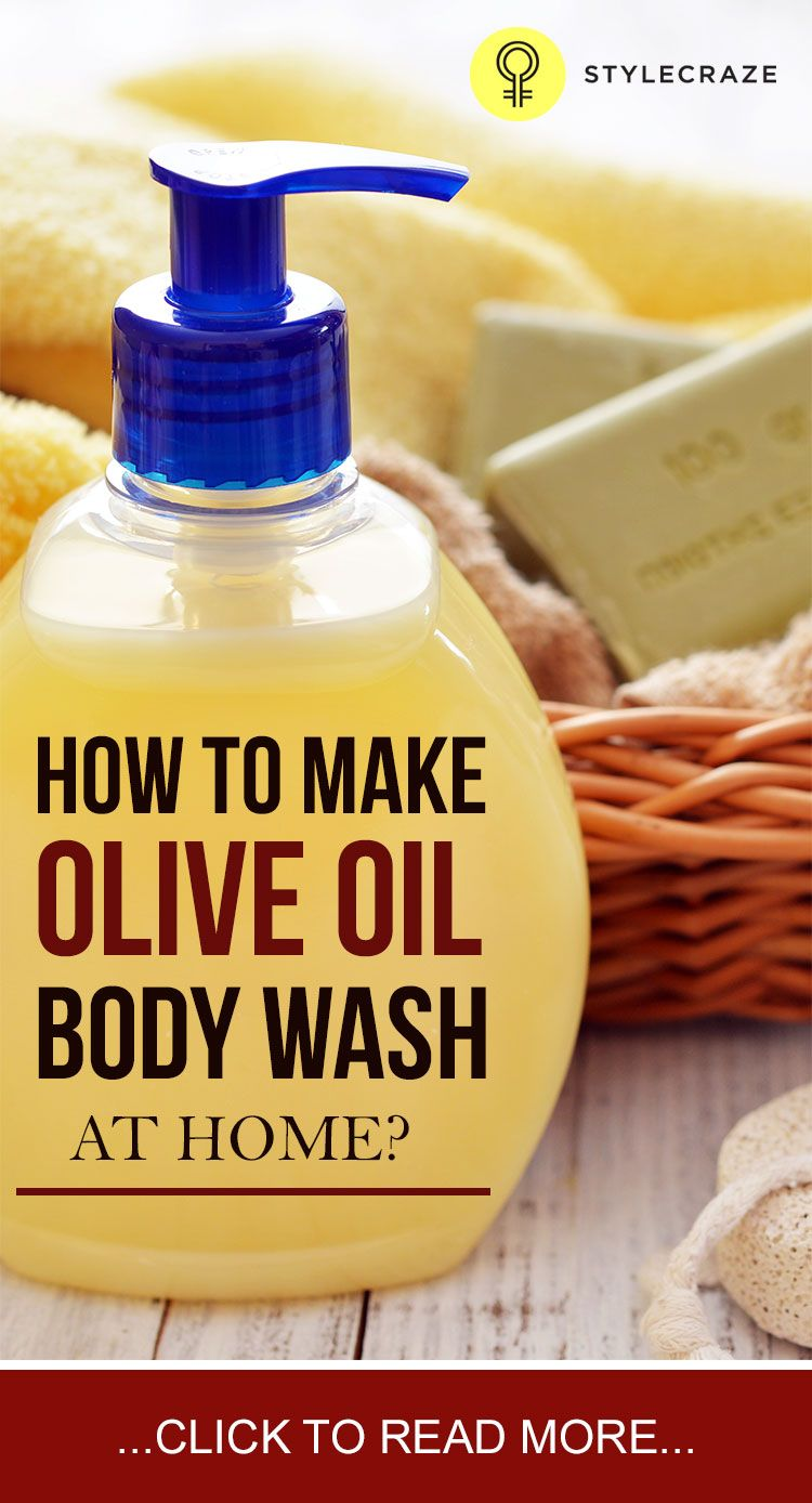 How to make olive oil body wash at home skin care hair - Which uses more water bath or shower ...