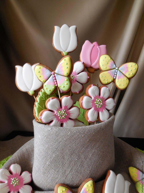 Купить Букет из пряников.Подарки на Пасху. - пряники, имбирные пряники, пряники на пасху, подарочный набор