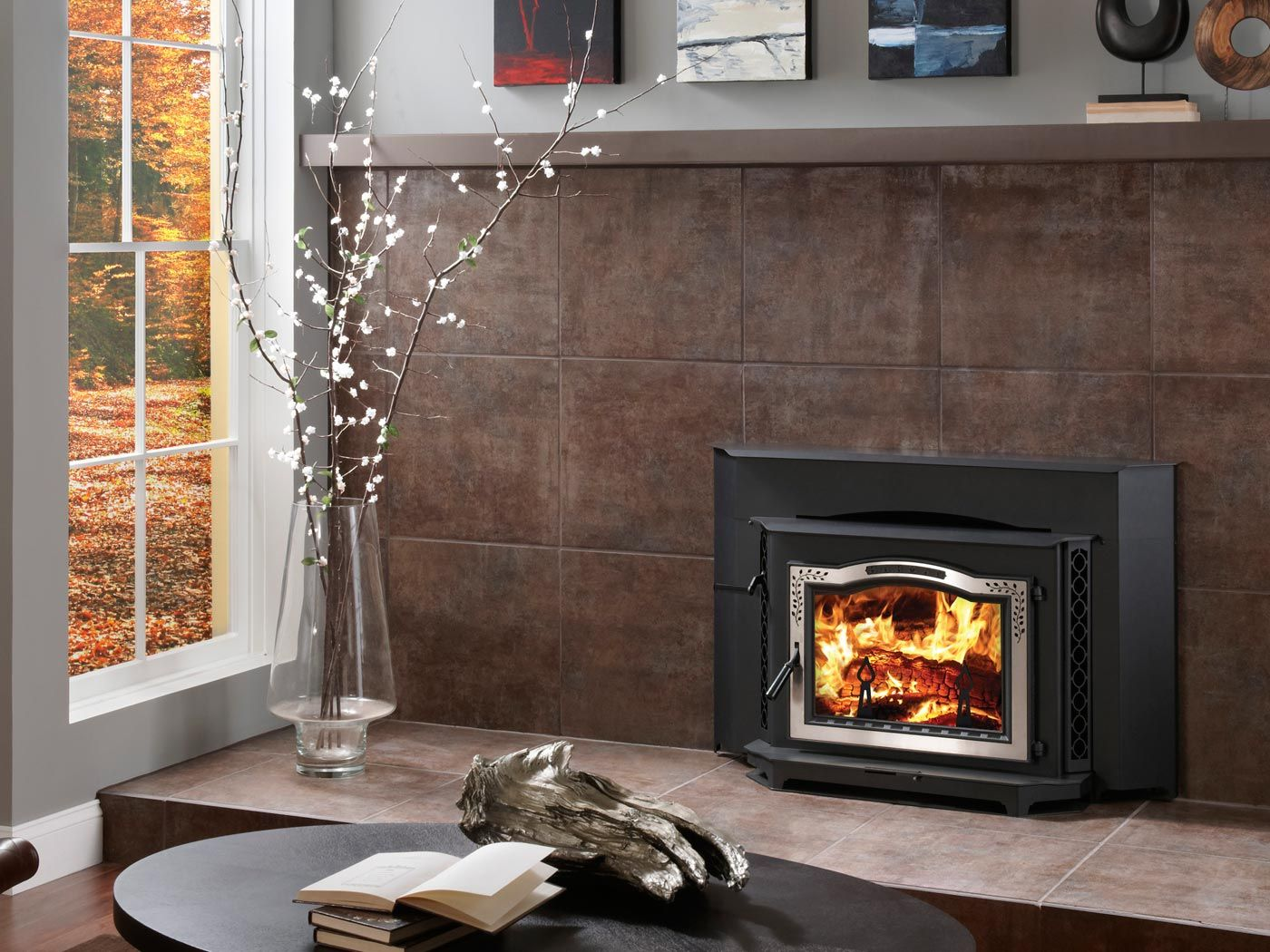 Harman 300i Wood Insert With Images Fireplace Wood Insert Wood Fireplace Inserts