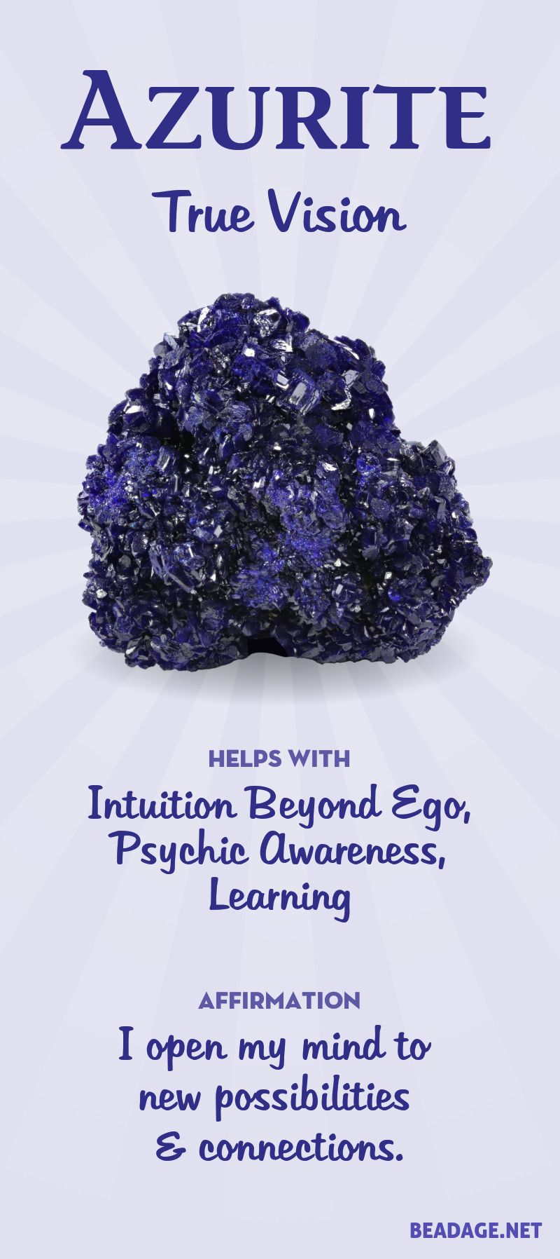 Azurite Meaning - Gemstone & Crystal Meanings & Properties