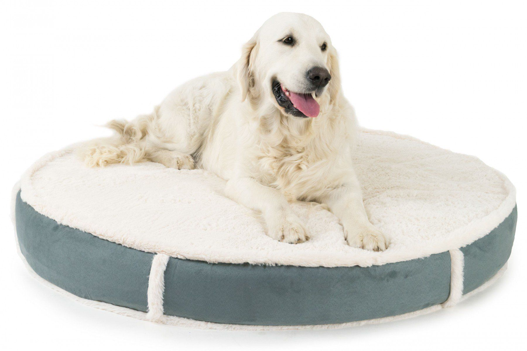 Orthopedic Round Lux Dog Bed by K9 Ballistics Orthopedic