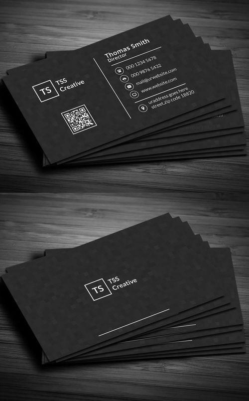 Modern dark pixels business card grafik tasarm pinterest modern dark pixels business card colourmoves