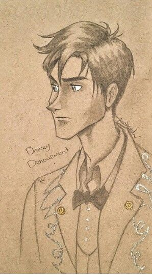 Dewey Denouement A Series Of Unfortunate Events A Series Of Unfortunate Events Drawings Favorite Books