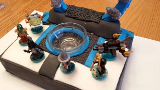 Lego Dimensions Portal Cake Anniversaire Lego Gateau